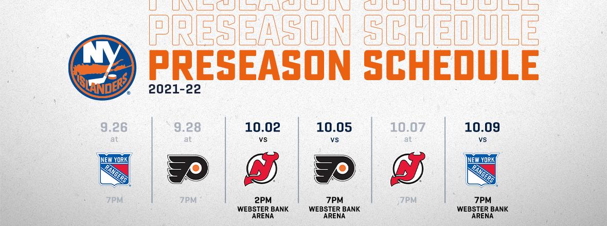 NHL Preseason Action Returns To Webster Bank Arena