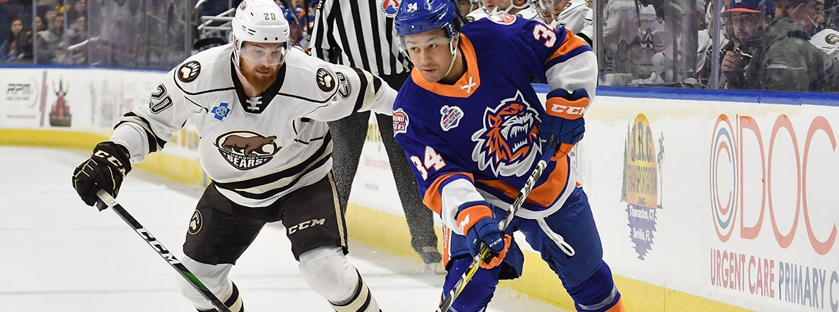 Sound Tigers Return From Break with 4-1 Loss