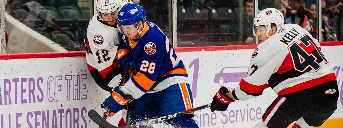 Sound Tigers Fall To Senators in Overtime