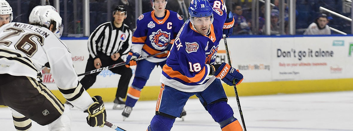 Sound Tigers Fall in 5-4 Shootout Loss