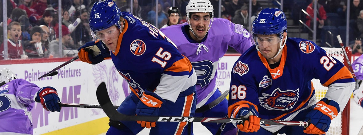 Sound Tigers Come Up Empty in 3-0 Loss