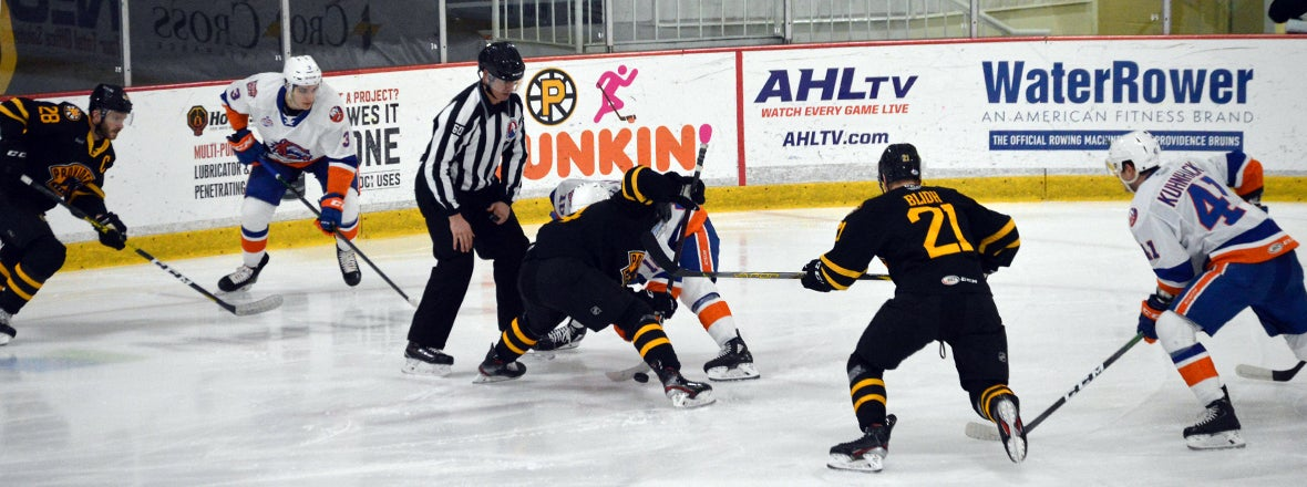Sound Tigers Fall to Bruins 5-2