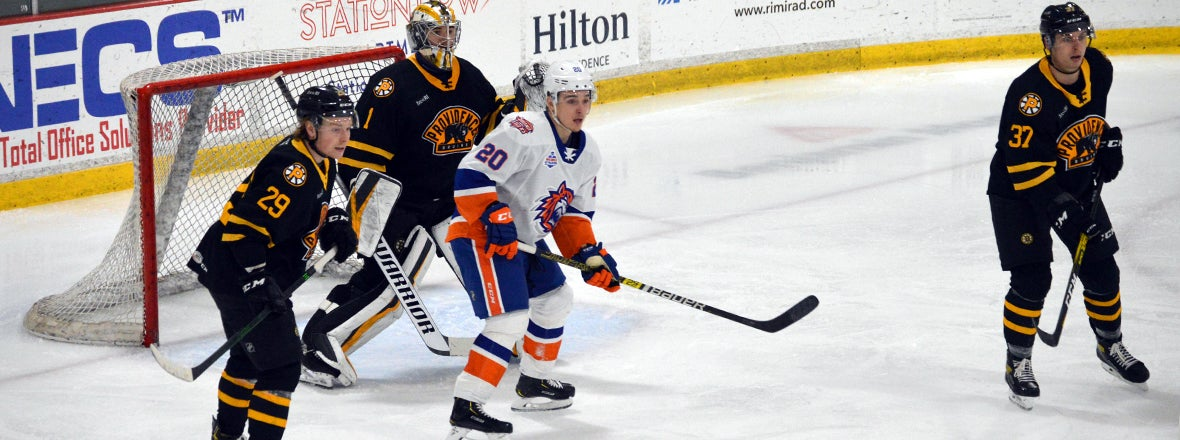 Sound Tigers Fall to Bruins 4-1