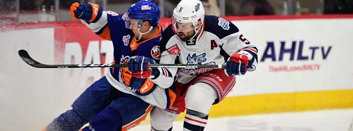 Sound Tigers Fall to Wolf Pack, 4-1