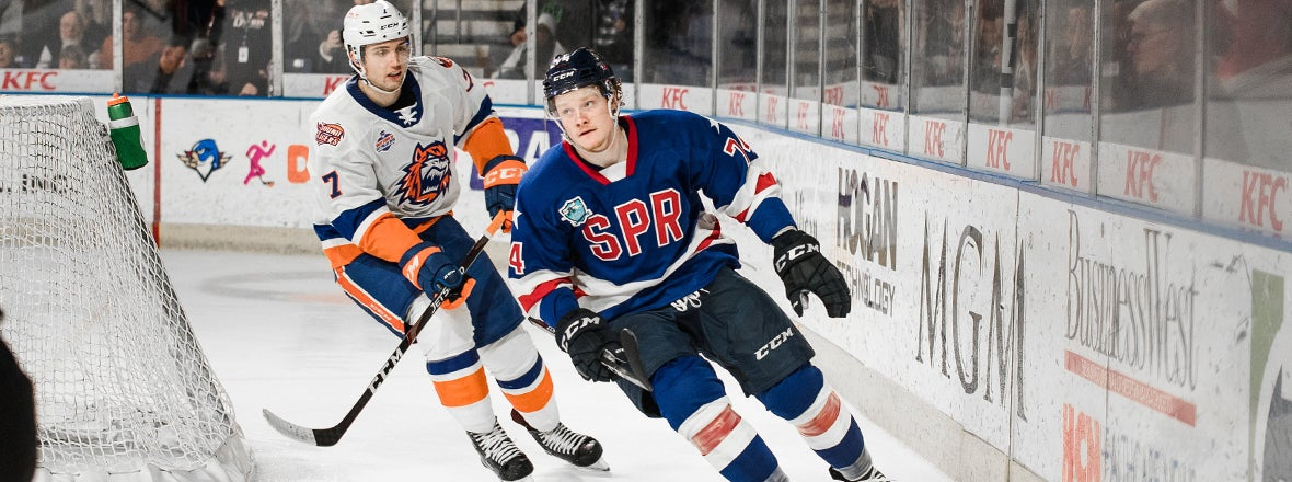Sound Tigers Enter All-Star Break with 6-2 Loss