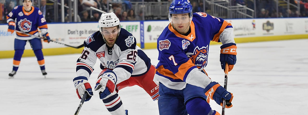 Sound Tigers Fall To Hartford, 4-1