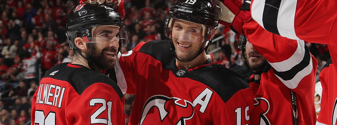Islanders Acquire Palmieri, Zajac From Devils
