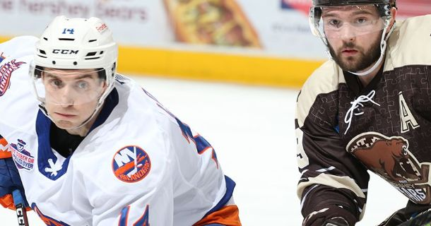 Thumbail Sound Tigers Fall To Hershey 5-1