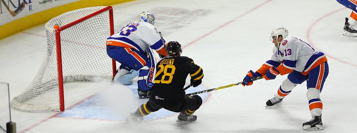 Sound Tigers Come Up Short on Monday, 3-2
