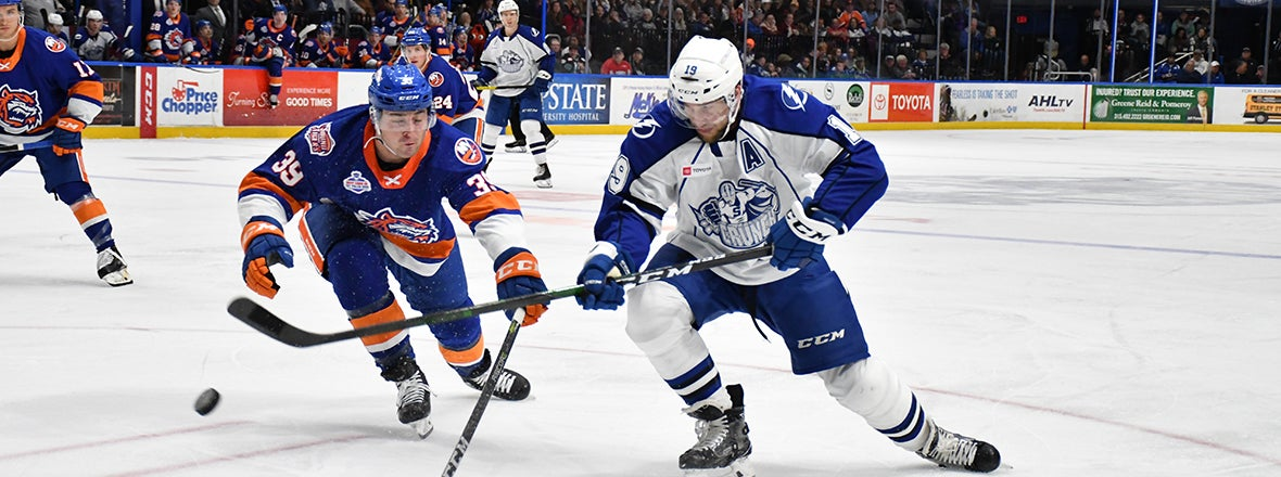 Sound Tigers Fall in Syracuse, 5-1