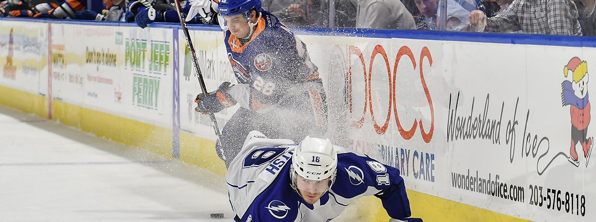 Sound Tigers Fall to Crunch 3-2